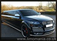 Black Audi Q7 Limo