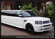 White Range Rover Sport Limo